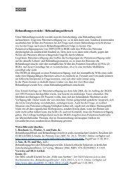 Behandlungsverzicht / Behandlungsabbruch - DGHS