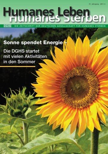 2011-3 - Deutsche Gesellschaft für Humanes Sterben