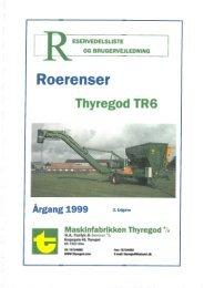 TR6 Roerenser - Thyregod A/S