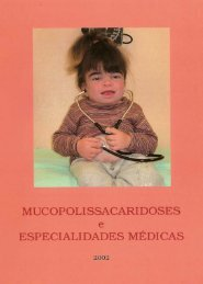 Mucopolissacaridoses e Especialidades Médicas - Rede MPS Brasil