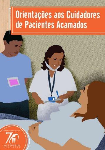 Orientações aos Cuidadores de Pacientes Acamados