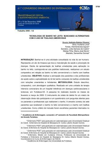 61o. Congresso Nacional de Enfermagem - ABEn Eventos