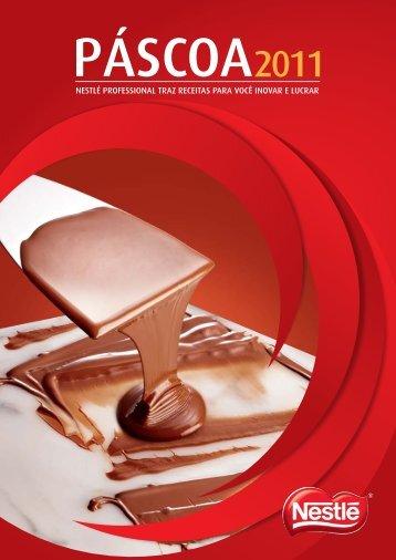 Receituário Padarias e Confeitarias - Nestlé Professional