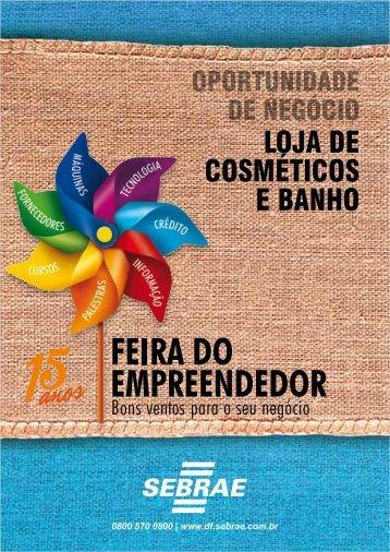 LOJA DE COSMÉTICOS E BANHO - Sebrae