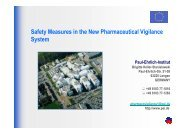 Safety Measures in the New Pharmaceutical Vigilance System - DGRA