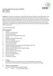 MV-Protokoll 2012 - DGSL