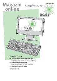Suggestopädische und Trainer-Praxis - DGSL