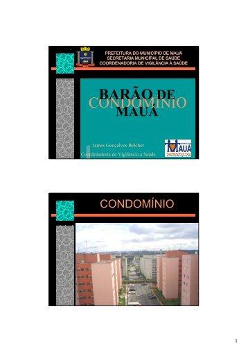 CONDOMÍNIO BARÃO DE
