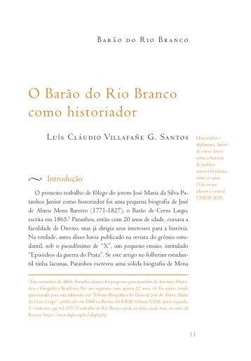 Barão do Rio Branco - Academia Brasileira de Letras
