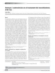 Avenços i controvèrsies en el tractament del neuroblastoma d'alt risc