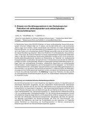 5. Einsatz von Hochfrequenzstrom in der Endoskopie bei ... - DGVS