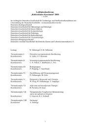 """Leitlinienkonferenz """"Kolorektales Karzinom"""" 2004 - DGVS"""