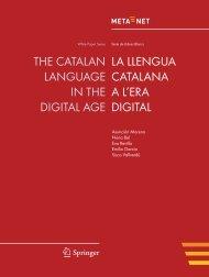 La llengua catalana a l'era digital - Meta-Net