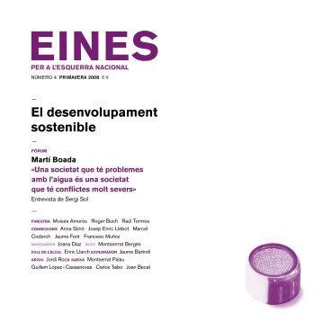 04. El desenvolupament sostenible - Fundació Josep Irla