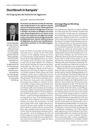 Internationalen Strafgerichtshofs - Deutsche Gesellschaft für die ...