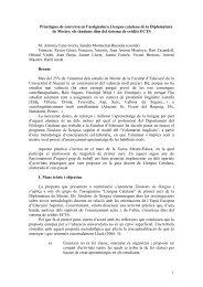 1 Pràctiques de conversa en l'assignatura Llengua catalana de la ...