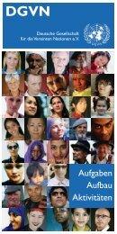 Download Flyer - Deutsche Gesellschaft für die Vereinten Nationen eV