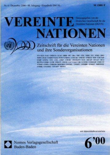 finden Sie das komplette  Heft VN 6/2000 als PDF zum Download.