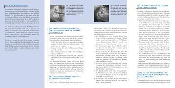 Operative Entfernung von Weisheitszähnen - Patienteninformation