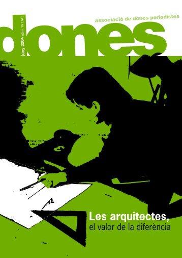 revista DONES 15 af - Associació de Dones Periodistes de Catalunya