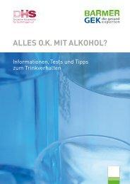 alles ok mit alkohol? - Deutsche Hauptstelle für Suchtfragen e.V.