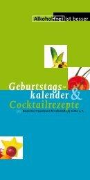 Alkohol frei - Deutsche Hauptstelle für Suchtfragen e.V.