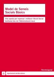 Model de Serveis Socials Bàsics - Ajuntament de Barcelona