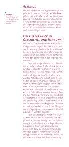 DHS Brosch Alkohol - Deutsche Hauptstelle für Suchtfragen e.V. - Seite 2