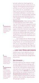 DHS Brosch Alkohol - Deutsche Hauptstelle für Suchtfragen e.V. - Seite 4