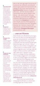 DHS Brosch Alkohol - Deutsche Hauptstelle für Suchtfragen e.V. - Seite 6