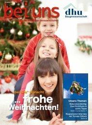 ... frohe - Baugenossenschaft Deutsches Heim-Union eG