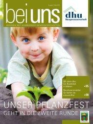 unser pflanzfest - Baugenossenschaft Deutsches Heim-Union eG