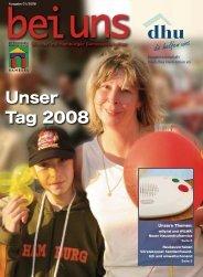 Unser Tag 2008 - Baugenossenschaft Deutsches Heim-Union eG