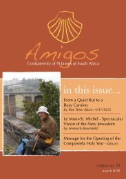 Amigos Edition 22 - Confraternity of St. James South Africa
