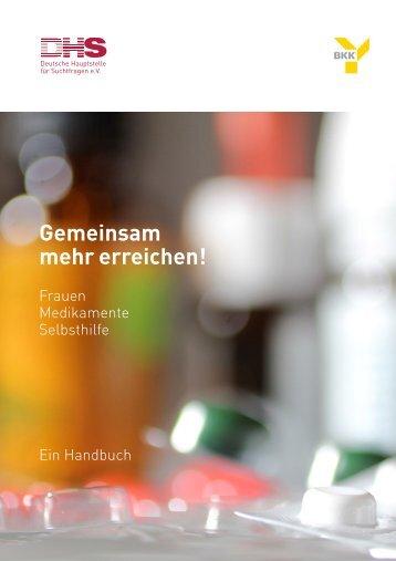 Handbuch - Deutsche Hauptstelle für Suchtfragen e.V.