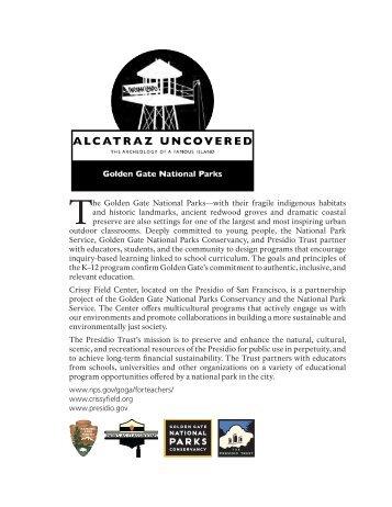 Alcatraz Uncovered - National Park Service