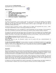 Sample application: BT Oscilloscope Copyright(C) Paul und Scherer ...