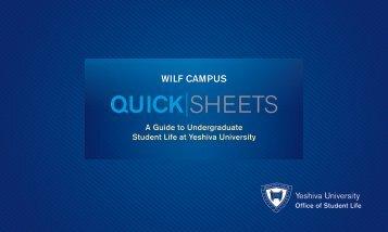 Wilf - YU Blogs - Yeshiva University