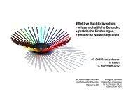 Effektive Suchtprävention: wissenschaftliche Befunde, praktische ...