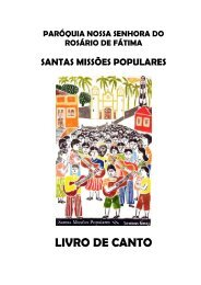 LIVRO DE CANTO - Letras e Cifras Católicas | Grupo de Canto