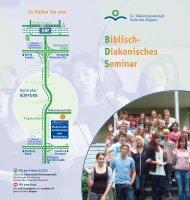 Biblisch- Diakonisches Seminar - Diakonissenkrankenhaus ...
