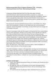 Beckenvenensyndrom (Pelvic Congestion Syndrome) – chronische ...