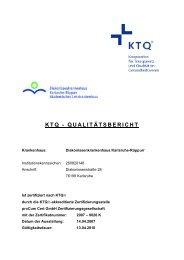 ktq - Diakonissenkrankenhaus Karlsruhe-Rüppurr