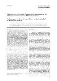 Ciencias Veterinarias Faculdade De Medicina Veterinaria