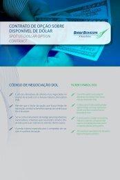 Opção disponível de dólar - BM&FBovespa