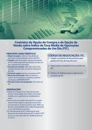 Contratos de Opção de Compra e de Opção de ... - BM&FBovespa