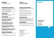 Veranstaltungen 1. Halbjahr 2013 - Diakonie Düsseldorf