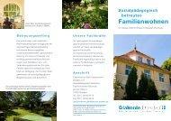 Familienwohnen - Diakonie Dresden