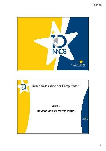 Revisão de Geometria Plana - Engprod2010cr.com.br