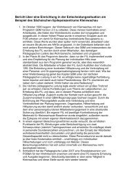 Praxisbeispiel – Markante ... - Diakonie Dresden